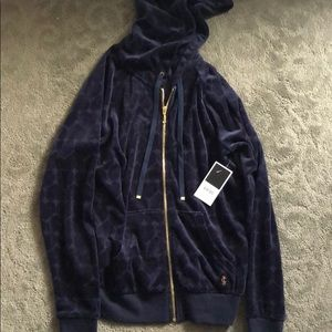 Juicy couture navy XS hoodie